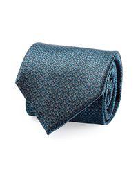 Brioni | Red Striped Silk Tie for Men | Lyst