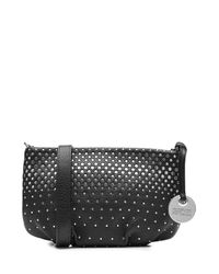 Marc By Marc Jacobs - New Q Percy Embellished Leather Shoulder Bag - Black - Lyst