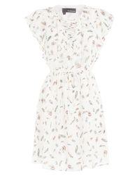 The Kooples | Printed Silk Dress - Multicolor | Lyst