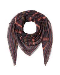 Faliero Sarti - Multicolor Printed Scarf With Cashmere - Lyst