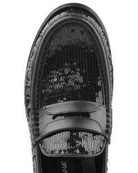 Dolce & Gabbana - Black Sequin Loafers for Men - Lyst