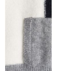 Closed - Gray Alpace Blend Cape - Lyst
