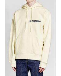 CALVIN KLEIN 205W39NYC - Multicolor Printed Cotton Sweatshirt for Men - Lyst