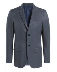 Jil Sander - Blue Angela/antonia Cotton Blazer for Men - Lyst