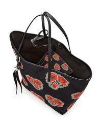 Alexander McQueen - Multicolor Canvas Tote Bag  - Lyst