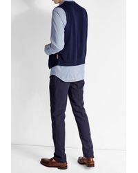 Baldessarini - Blue Printed Cotton Shirt for Men - Lyst