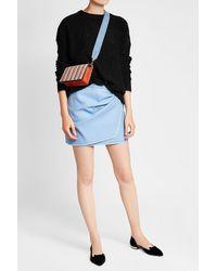 Diane von Furstenberg - Multicolor Sac à bandoulière en cuir velours Soiree - Lyst