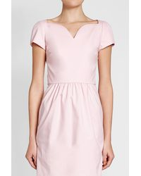 Boutique Moschino - Pink Cotton Dress - Lyst