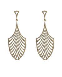 Ileana Makri - Metallic 18-karat Gold And Diamond Escape Earrings - Lyst