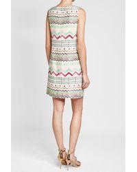 M Missoni - Multicolor Printed Silk Dress - Lyst