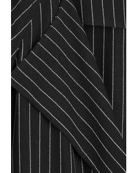 Alexander Wang | Black Pinstriped Dress | Lyst