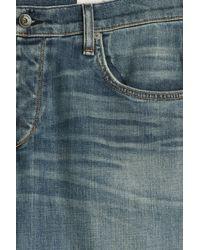 Rag & Bone - Blue Straight Leg Jeans for Men - Lyst