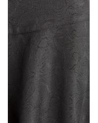 Anna Sui - Black Jacquard Skirt - Lyst