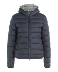 Colmar - Blue Odyssey Quilted Down Jacket With Hood - Lyst