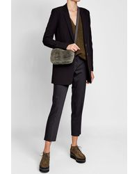 Brunello Cucinelli | Multicolor Beaver Fur Shoulder Bag | Lyst