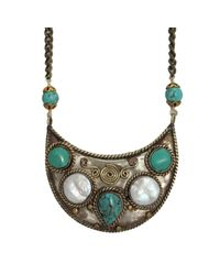 Natalie B. Jewelry | Multicolor Tulum Necklace | Lyst