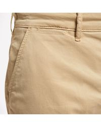 Lyle & Scott - Natural Garment Dye Chino Shorts for Men - Lyst