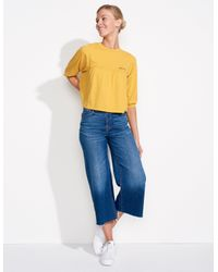 Sundry - Blue You And Me Babydoll Top - Lyst