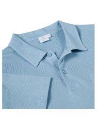 Sunspel | Blue Men's Cotton Riviera Polo Shirt In Sky for Men | Lyst