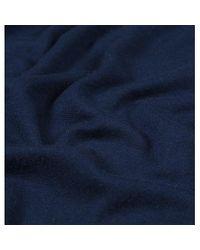 Sunspel - Blue Women's Fine Merino Funnel Neck Jumper In Light Navy - Lyst