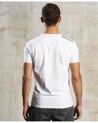 Superdry White Sport Label T-shirt for men