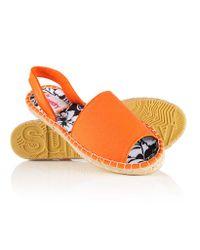 Superdry - Orange Maria Espadrille Sandals - Lyst
