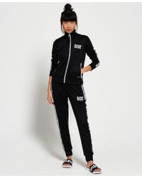 Superdry | Black Fashion Fitness Tricot Track Top | Lyst