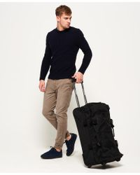 Superdry - Black Montana Large Check In Case for Men - Lyst