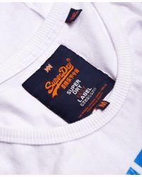 Superdry - Blue Xl Premium Goods Vest Top for Men - Lyst