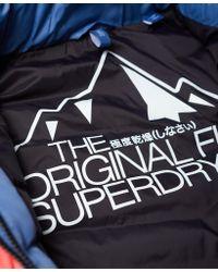 Superdry - Blue Offshore Chevron Fuji Jacket - Lyst