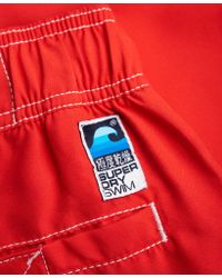 Superdry - Red Boardshorts for Men - Lyst