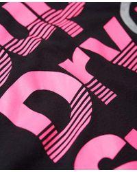 Superdry - Black Sport Label Hot T-shirt - Lyst