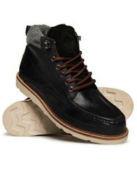 Superdry - Black Mountain Range Boots for Men - Lyst