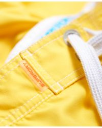 Superdry - Yellow Boardshorts for Men - Lyst