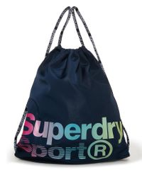 Superdry - Multicolor Drawstring Sports Bag - Lyst