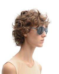 Linda Farrow - Blue Dries Van Noten Sunglasses - Lyst