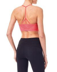 Sweaty Betty   Multicolor Yama Padded Yoga Bra   Lyst