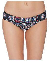 Ella Moss | Blue The Wanderer Reversible Retro Bottom Color: Multi Size: L | Lyst