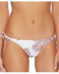 ViX - Krishna White Triangle Bikini Bottom Color: White Size: M - Lyst