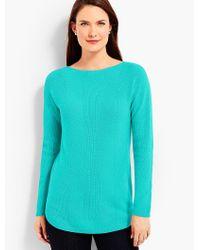 Talbots - Blue Bateau Sweater - Lyst