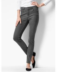 761671d85537e Talbots The Flawless Five-pocket Jegging-shoreline Wash in Gray - Lyst