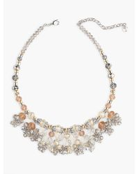 Talbots - Multicolor Bead Chandelier Necklace - Lyst