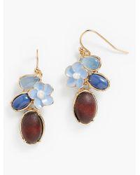 Talbots | Blue Spring Oasis Drop Earrings | Lyst