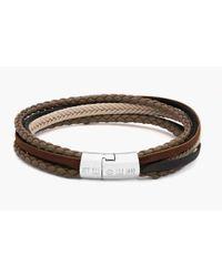 Tateossian - Multicolor Multi-strand Cobra Bracelet In Stone - Lyst