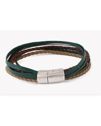 Tateossian | Green Multi-strand Cobra Bracelet for Men | Lyst