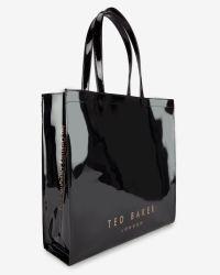Ted Baker - Black Bow Detail Large Shopper Bag - Lyst