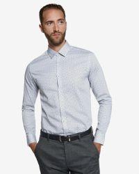 Ted Baker | White Scatter Leaf Print Shirt for Men | Lyst