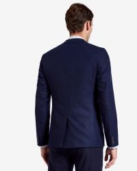 Ted Baker - Blue Wool And Cashmere-blend Jacket for Men - Lyst