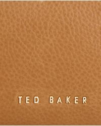 Ted Baker - Brown Leather Cross Body Bag - Lyst