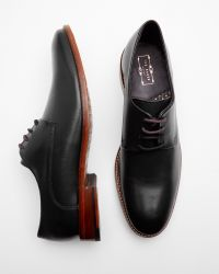 Ted Baker - Black Classic Leather Derby Shoes for Men - Lyst